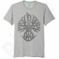 Marškinėliai Adidas Dame Roots Damian Lillard M AI0485
