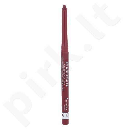 Rimmel London Exaggerate lūpų pieštukas, kosmetika moterims, 0,25g, (105 Under My Spell)