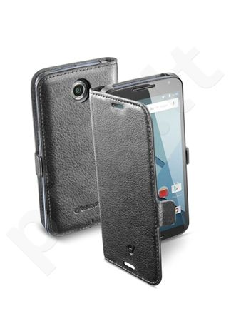 Motorola Nexus 6 dėklas BOOK ESSEN Cellular juodas
