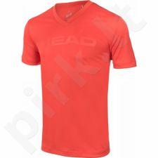 Marškinėliai tenisui Head Transition T4S V-Neck Shirt M 811306-FL