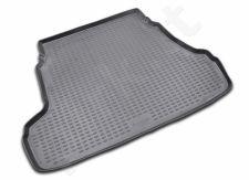 Guminis bagažinės kilimėlis HYUNDAI Elantra sedan 2007-2010 black /N15007