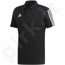 Marškinėliai futbolui Adidas Tiro 19 Cotton Polo M DU0867