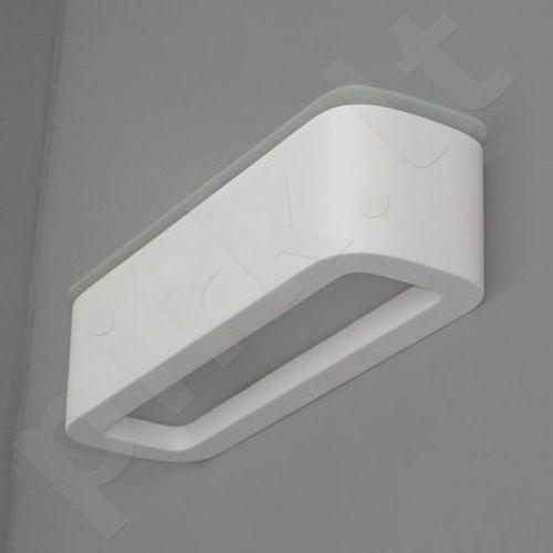 Sieninis šviestuvas gipsinis 10-KORYTKO ZAOKRĄGLONE Z DOLNYM I GÓRNYM SZKŁEM