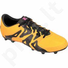 Futbolo bateliai Adidas  X 15.3 FG/AG Jr S74637
