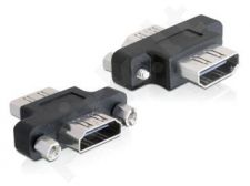 Delock adapteris HDMI(F)->HDMI(F) barrel