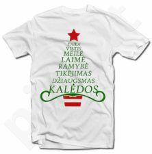 """Marškinėliai """"Kalėdinė eglutė"""""""