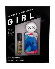Pharrell Williams Girl, rinkinys kvapusis vanduo moterims ir vyrams, (EDP 100 ml + EDP 10 ml)