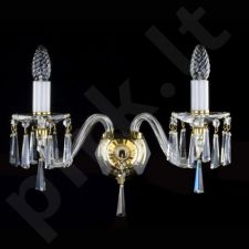 Sieninis šviestuvas krištolo 224-NIKITA II. WL firmy ArtGlass