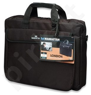 Krepšys Manhattan London 15,6'' Juodas