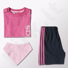 Vaikiškas komplektas Adidas Summer Set Gift Pack Kids S21400