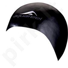 Kepuraitė plaukimui AQF silikoninė 3046 20 black