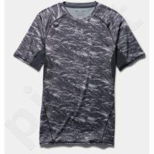 Marškinėliai kompresiniai Under Armour HeatGear® Armour Printed Short Sleeve Compression M 1257477-005