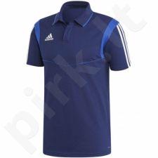 Marškinėliai futbolui Adidas Tiro 19 Cotton Polo M DU0868