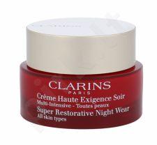 Clarins Super Restorative, naktinis kremas moterims, 50ml, (Testeris)