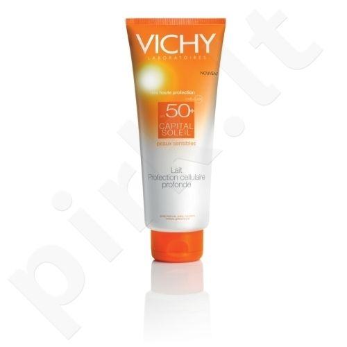 Vichy Capital Soleil Milk SPF50, kosmetika moterims, 300ml