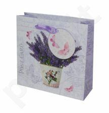 Dovanų maišelis Flowering Levander Sq 95007