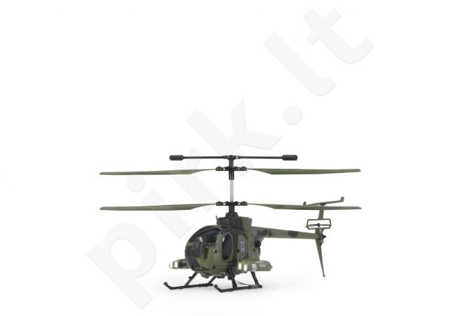 Radio bangomis valdomas Jamara Germany Spy Copter 500 Military w. Gyro a Camera