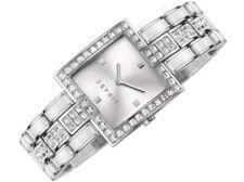 Esprit ES106532002 Mint Glitz White moteriškas laikrodis