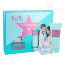 Antonio Banderas Blue Seduction rinkinys moterims, (EDT 50 ml + kūno losjonas 100 ml)