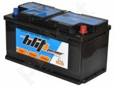 Akumuliatorius Blitz 100Ah/ 950A kairinis