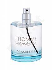 Yves Saint Laurent L´Homme, Cologne Bleue, tualetinis vanduo vyrams, 100ml, (Testeris)