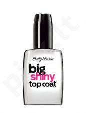 Sally Hansen Big Shiny Top Coat rinkinys moterims, (Extra glossy colorless nagų lakas)