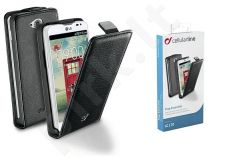 LG L65/L70 dėklas FLAP ESSEN Cellular juodas