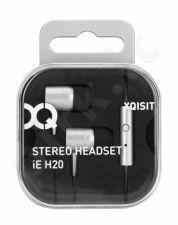 XQISIT iE H20 įstatomos ausinės, sidabri