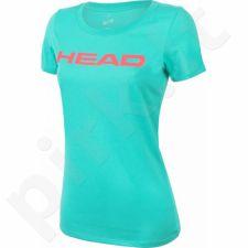 Marškinėliai tenisui Head Transition Lucy T-shirt W 814576-TQPK