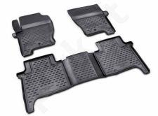Guminiai kilimėliai 3D LAND ROVER Range Rover Sport 2005-2012, 4 pcs. /L40023