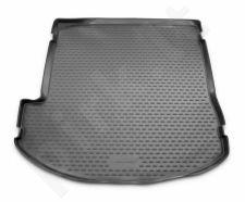 Guminis bagažinės kilimėlis HYUNDAI Grand Santa Fe 2013-> (folded 3th row) black /N15015