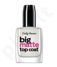 Sally Hansen Big Matte Top Coat rinkinys moterims, (Extremely matt colorless nagų lakas)