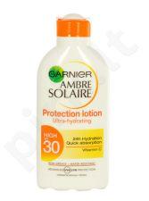 Garnier Ambre Solaire, SPF30, Sun kūno losjonas moterims, 200ml