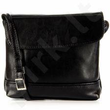DAN-A T291 juoda rankinė moterims natūralios odos