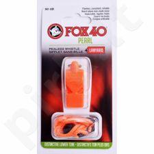 Švilpukas FOX 40 Pearl + virvutė 9703-0308 oranžinis