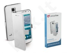 Samsung Galaxy S5 mini dėklas BOOK ESSEN Cellular baltas