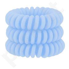 Invisibobble Power plaukų gumytės, kosmetika moterims, 3vnt, (Something Blue)