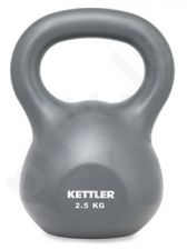Svarstis BASIC KETTLE BELL 2,5kg grey
