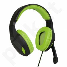 ART GAMING Headphones with microphone LIZARD 1xmini Jack + adapter 2xmini Jack
