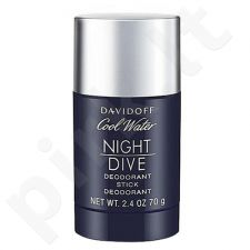 Davidoff Cool Water Night Dive, pieštukinis dezodorantas vyrams, 75ml