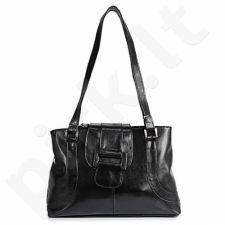 DAN-A T50 juoda rankinė iš natūralios odos , moteriška