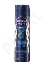 Nivea Men Fresh Active, 48H, dezodorantas vyrams, 150ml