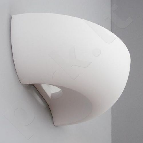 Sieninis šviestuvas gipsinis 10-MISA stiklas WKLĘSŁA