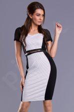 Emamoda suknelė - baltos spalvos 9406-2