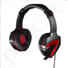 A4Tech Bloody headset G501, with microphone /Music 2.0 mode/Surround 7.1 mode (Black red)