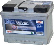 Akumuliatorius Rider 62Ah/ 580A
