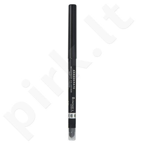 Rimmel London Exaggerate atsparus vandeniui akių kontūro pieštukas, kosmetika moterims, 0,28g, (213 In The Nude)
