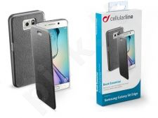 Samsung Galaxy S6 EDGE dėklas BOOK ESSEN Cellular juodas