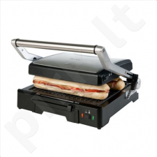 DomoClip DOC101 Multi Grill & Panini, Adjustable height settings, 180 degree opening