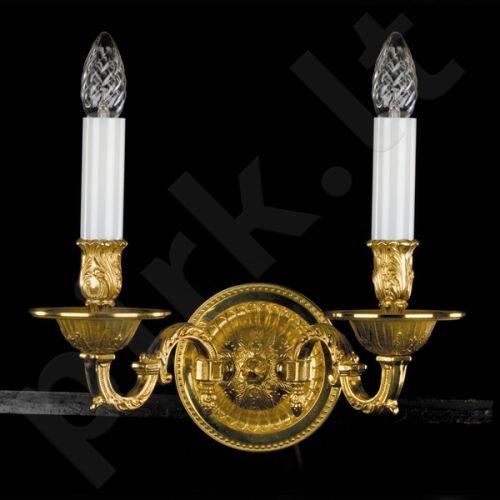 Sieninis šviestuvas krištolo 224-MIRANDA-II WL firmy ArtGlass